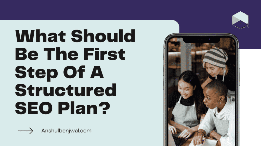 What Should Be The First Step Of A Structured SEO Plan?